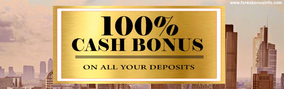 100% Deposit Bonus – CIBfx